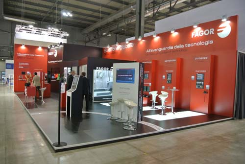 Fagor Automation Stand